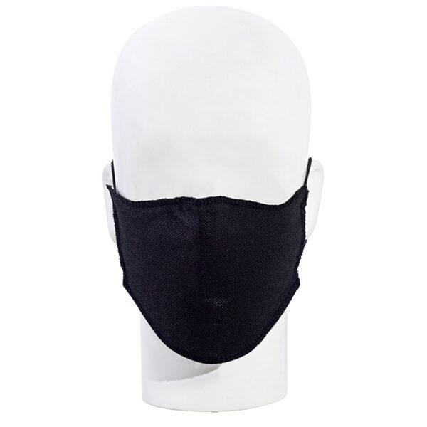 Mascarilla de alta respirabilidad para hacer deporte sujeción con gomas